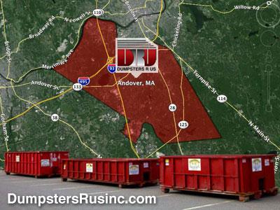 Dumpster Rental MA-North Andover, Massachusetts
