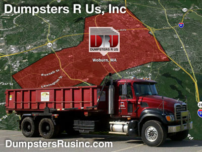 Dumpster rental in Woburn, MA by Dumpsters R Us, Inc | dumpster rentals