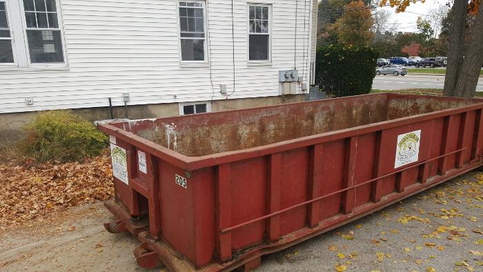 online dumpster rental, concord nh, nh, attic, basement cleanout,