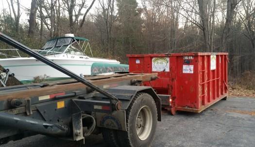 15 yard dumpster rental in Merricmac, MA
