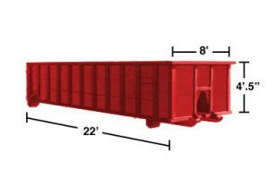 Dumpster Rental MA - 20 roll-off