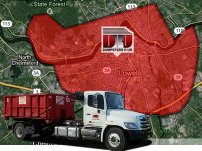 Dumpster rental in Lowell, MA | Rolloffs by Dumpsters R Us, Inc