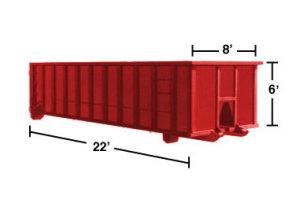 30 roll-off Dumpster Rental MA -  NH