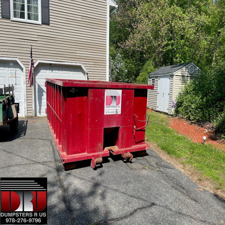 15 yard dumpster rental for Spring Cleaning in Windham MA ...