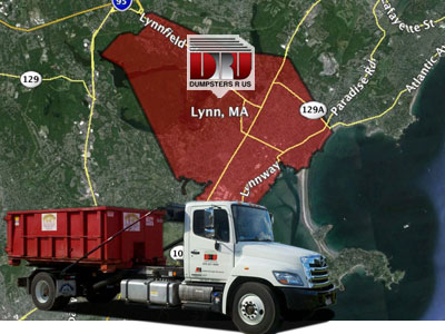 Dumpster Rental Lynn MA. Delivered by Dumpsters R Us, Inc