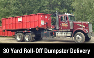 Dumpster Rental MA | Andover 30 yard delivery