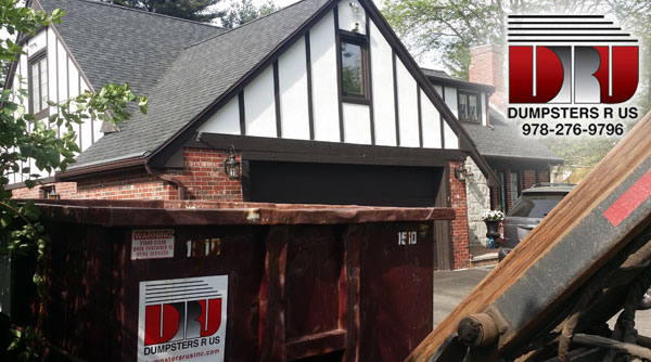 10 Yard Dumpster Rental in Reading, MA for spring cleaning in Reading_MA done by Dumpsters R Us, Inc