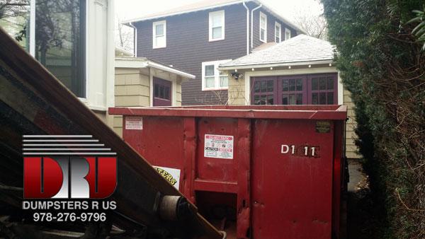 15 yard dumpster rental Salem, MA for bathroom demo