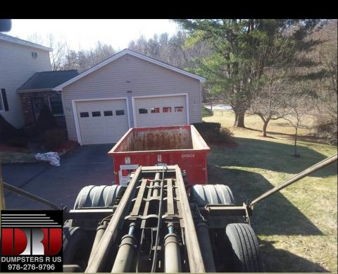 15 yard dumpster rental for a Kitchen Remodeling job in ...