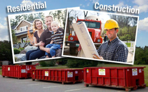 Haverhill, MA Residential and Construction Dumpster Rental