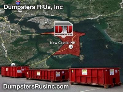 New Castle, NH Dumpster Rental Rolloff